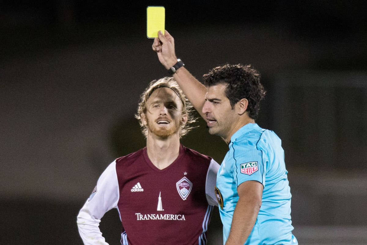 Sometimes officials can be frustrating to deal with, as Jared Watts knows