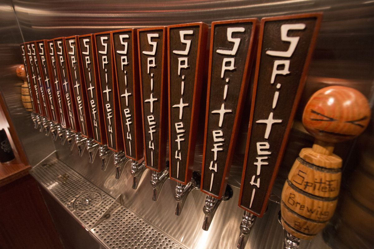 Tour Spiteful Brewing S Quirky North Side Taproom Eater