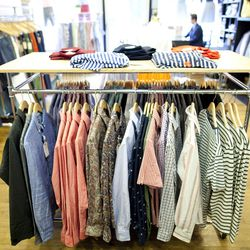 """<b>↑</b> Menswear shop <b><a href=""""http://epauletnewyork.com/"""">Epaulet</a></b> (231 Smith Street) has become a mainstay for well-appointed style with an inventory that's cool and beautifully crafted. The store dabbles in womenswear, and is a go-to whether"""