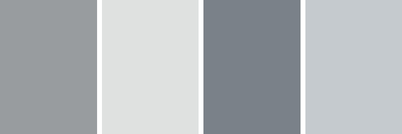 Paint colors for better sleep - grey tones