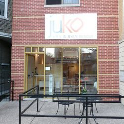 """""""I love <b><a href=""""http://www.jukochicago.com/"""">Juko Nail Salon</a></b>. The service is always spectacular and I always leave satisfied. It is beautiful, clean, and the owner is delightful. There is a great selection of polishes and  the magazines are al"""