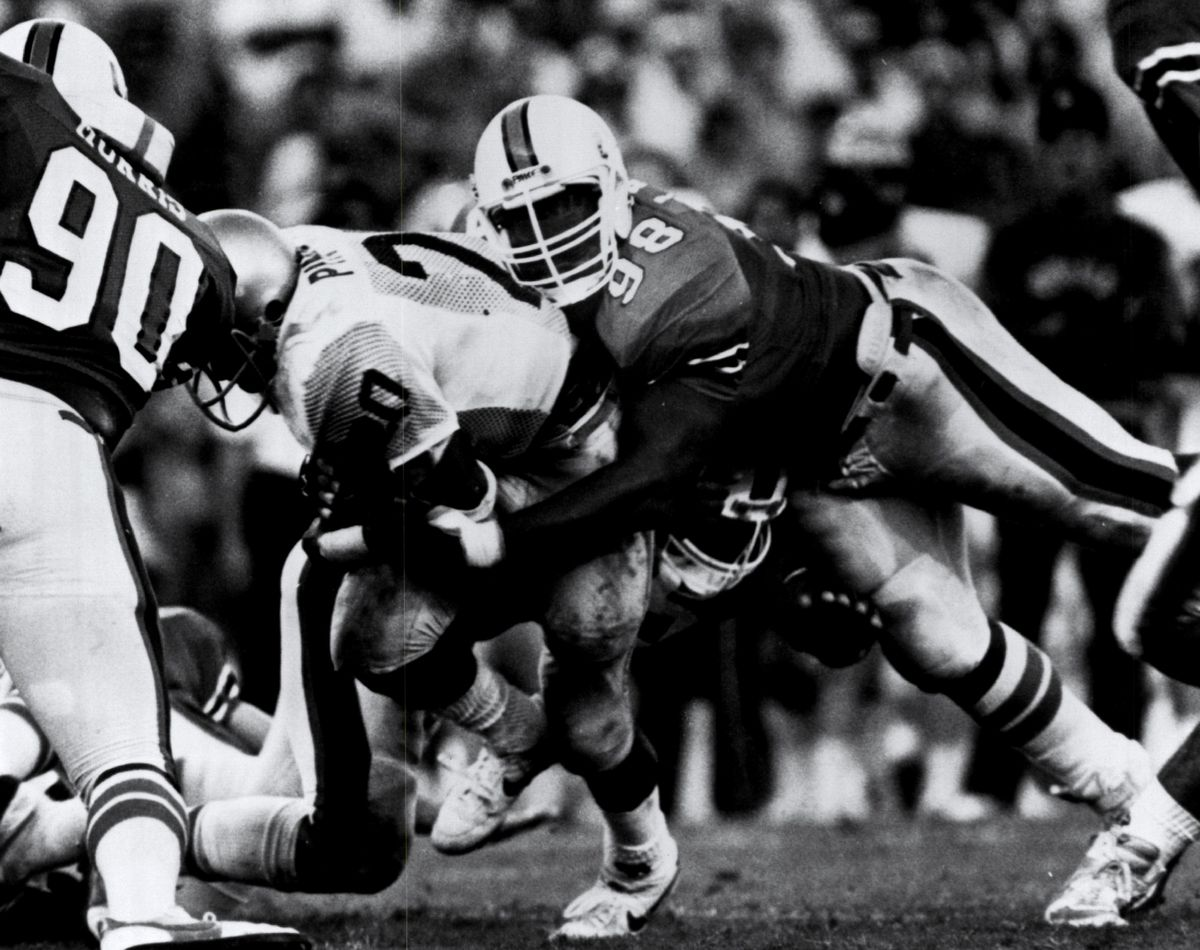 Jerome Brown - Miami Hurricanes