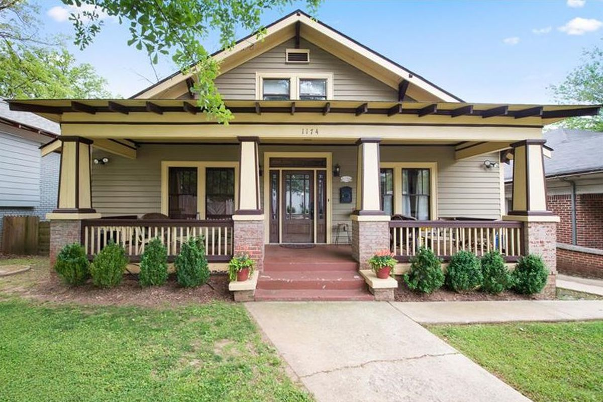 In west end atlanta charming craftsman bungalow aims to for Atlanta craftsman homes