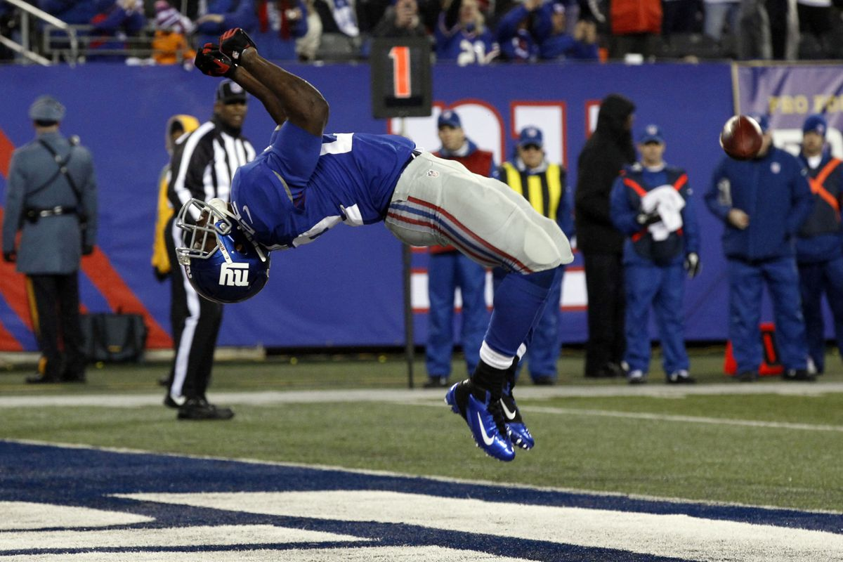 David Wilson had a solid season for the Giants in 2012-2013