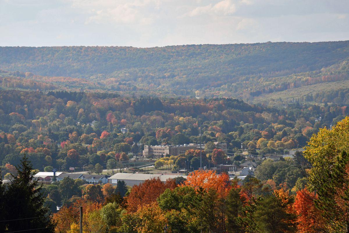 Autumn Overlook, Wellsville, New York