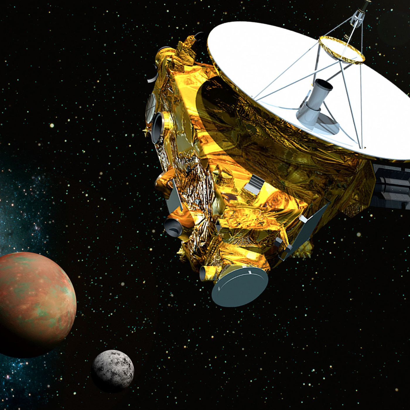mission to pluto the first visit to an ice dwarf and the kuiper belt