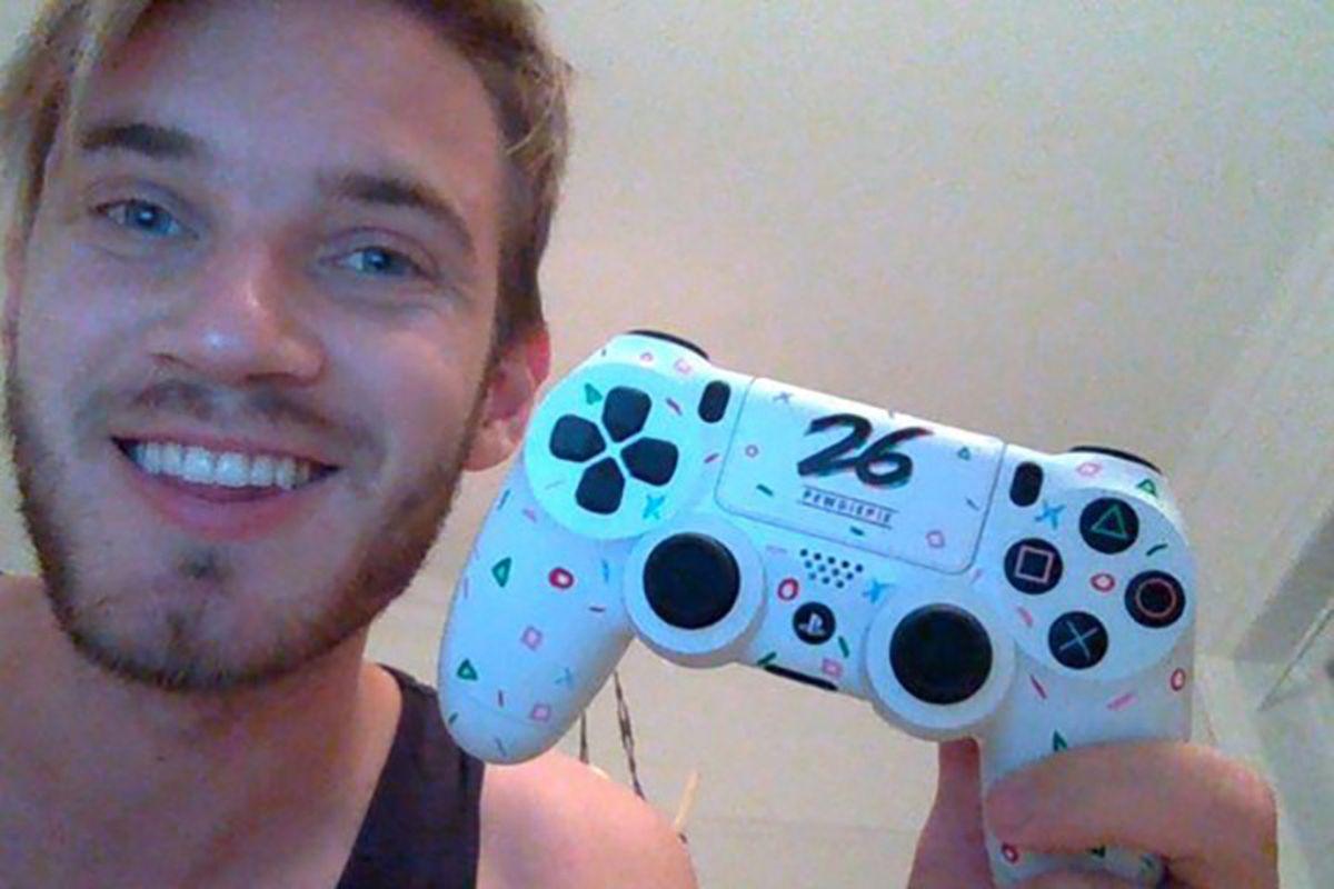 Sony Wishes Pewdiepie A Happy 26th Birthday With A Custom