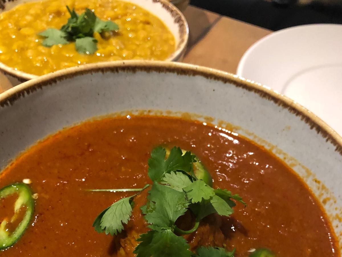 Pakistani cuisine at Masala Wala in Brockley