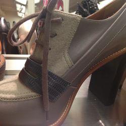 Chloe heeled oxford, $306
