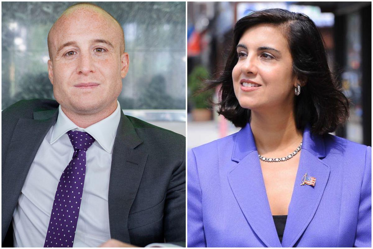 Congressional candidates Rep. Max Rose and Nicole Malliotakis.