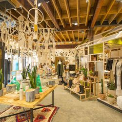 """And they did just that. Similar to UO's <a href=""""http://la.racked.com/archives/2013/08/15/inside_urban_outfitters_massive_magical_mecca_in_malibu.php"""">magical mecca</a> in Malibu, this store is in an indie state of mind, showcasing a range of custom-built"""