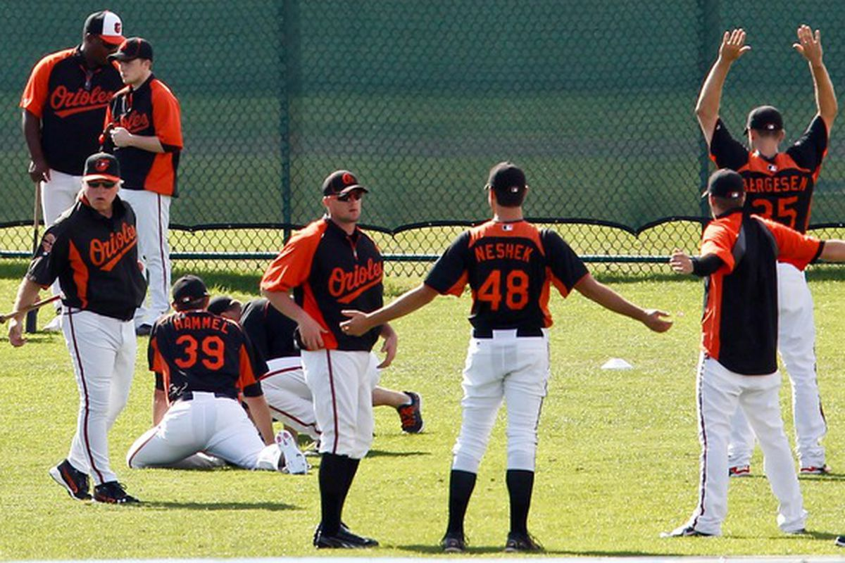 A shot from Spring Training 2012. Here's to 2013 being even better.