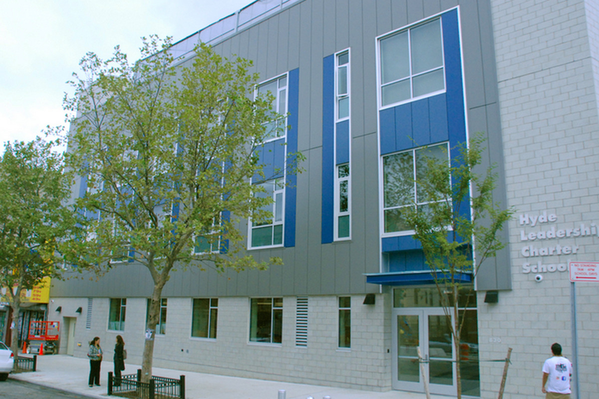 Hyde Leadership Charter School in the Bronx, one of nearly 70 schools in private space that could be impacted by a new statewide charter school funding lawsuit.