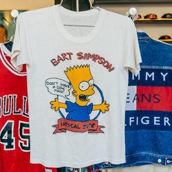 Bart Simpson tee, $68