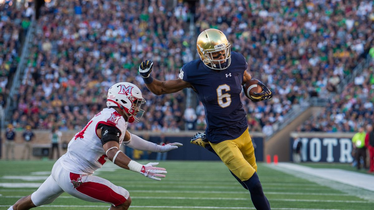 COLLEGE FOOTBALL: SEP 30 Miami OH at Notre Dame