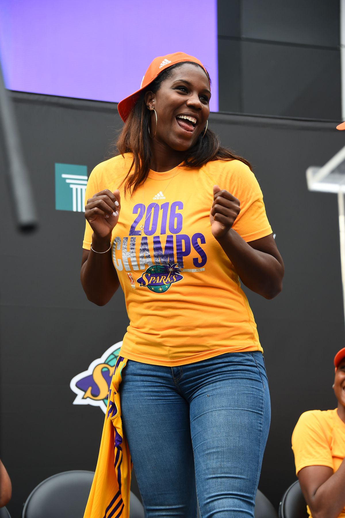 Los Angeles Sparks Championship Rally 2016