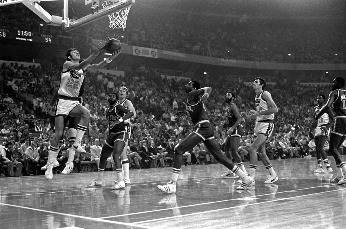 Denver Nuggets v New York Knicks, 11-3-76