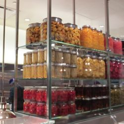 Bacchanal Buffet features more than 3,600 jars filled with food.