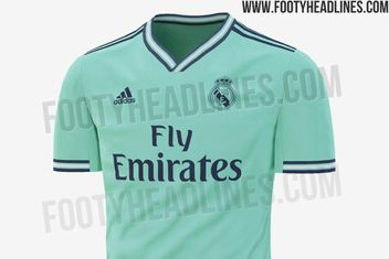 180fdbfe4 Real Madrid s 2019-2020 third kit leaked