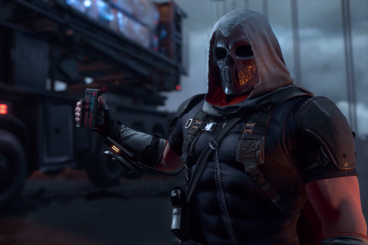 The Avengers game trailer's masked villain is a Captain