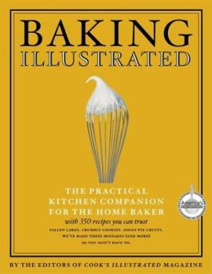 """The cover of """"Baking Illustrated."""""""