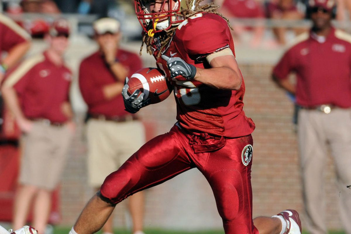 Meet Will Burnham. He is a walk-on RB and I hope he gets carries against Savannah State.