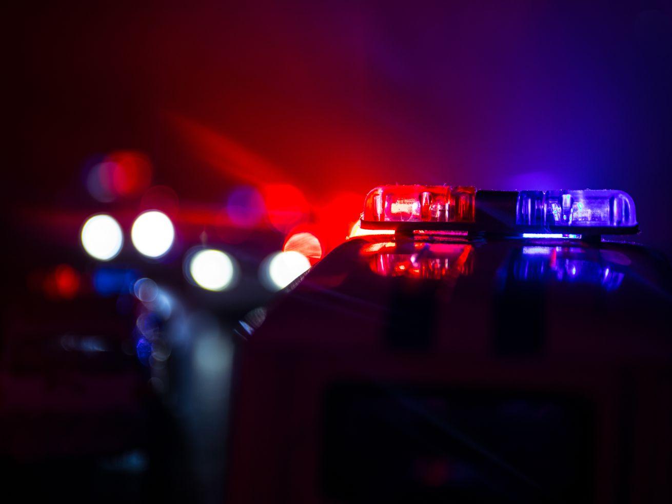 A man drove into a CFD ambulance April 5, 2021 in South Shore.