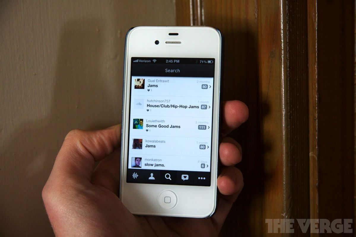 Soundcloud for iPhone