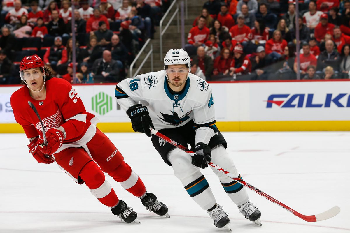 NHL: FEB 24 Sharks at Red Wings