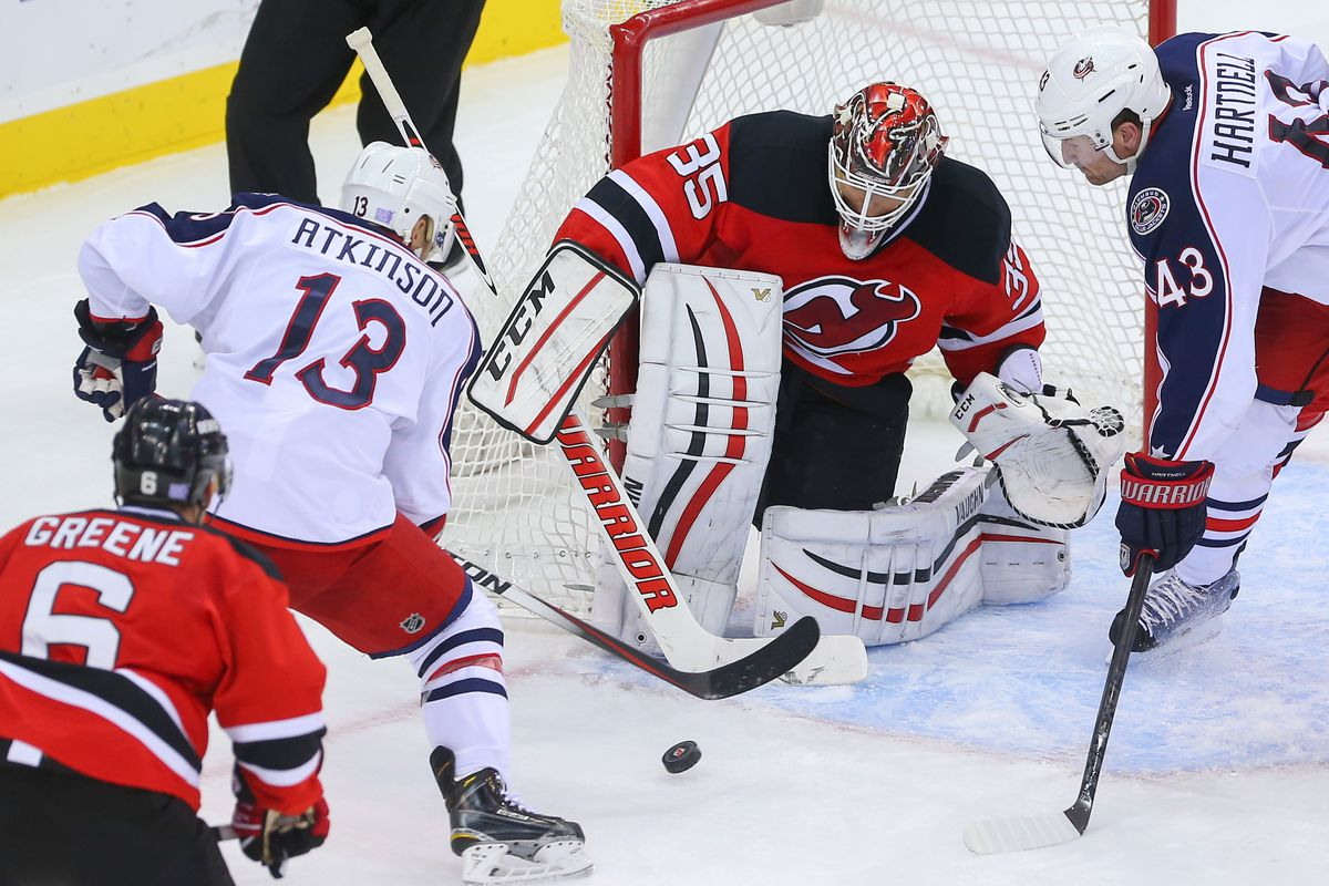 Fewer open opportunities for Blue Jackets in front of the net, please.