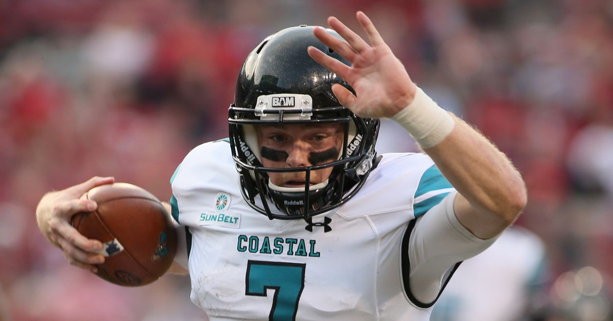 half off 5c70b 4ee34 Coastal Carolina football preview 2018: OK, now FBS run can ...