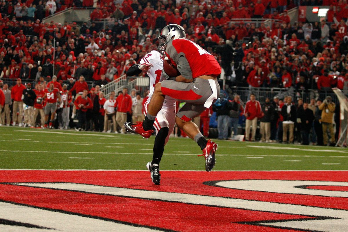 Marcus Cromartie failed to stop Ohio State's Devin Smith from snagging this game winning touchdown. Would cornerback Devin Smith have been able to stop Devin Smith from catching this ball?