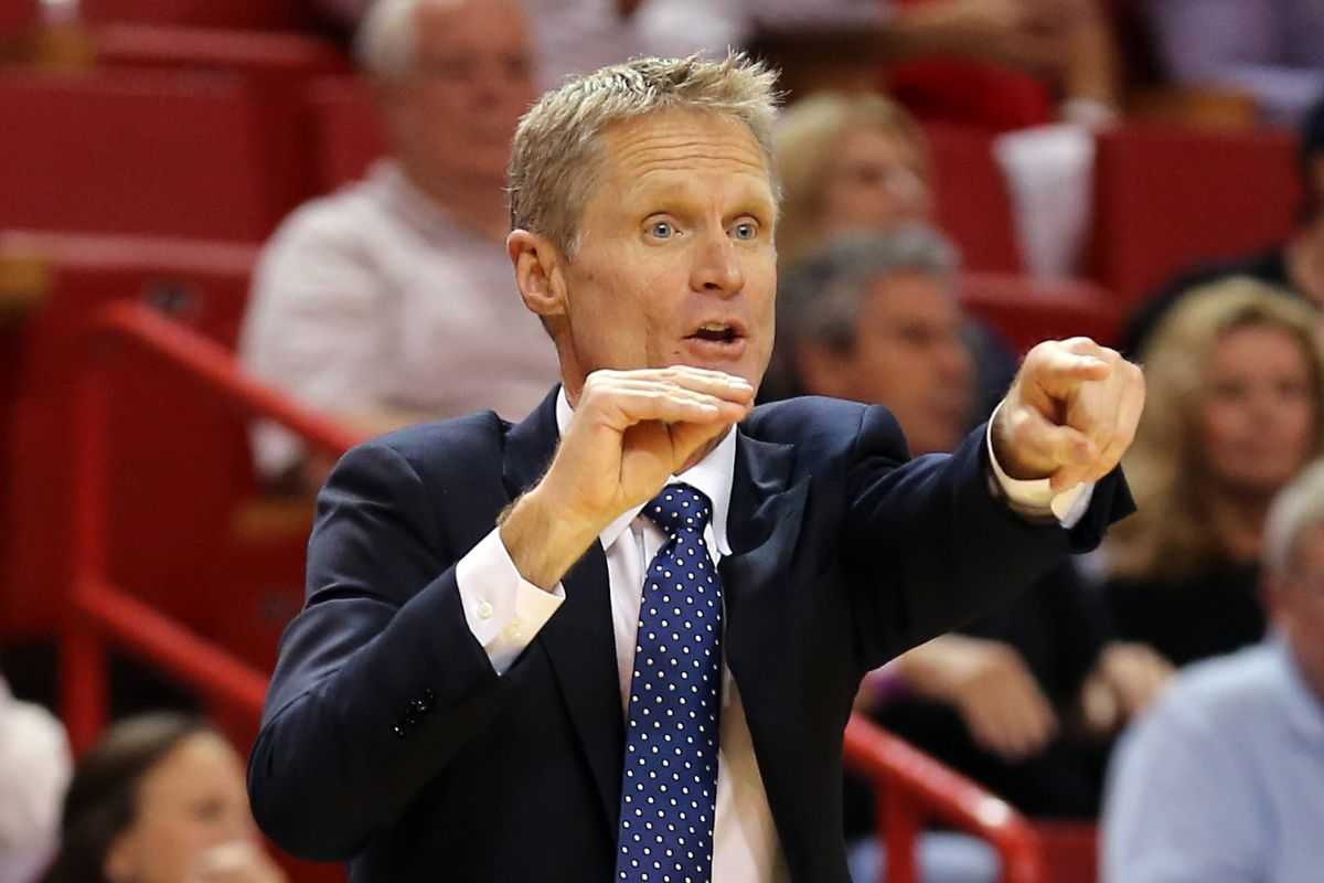 Golden State Warriors Coach Steve Kerr