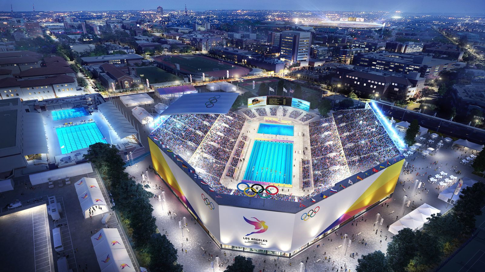 Mapped: The future sites of LA's 2028 Olympic games - Curbed LA