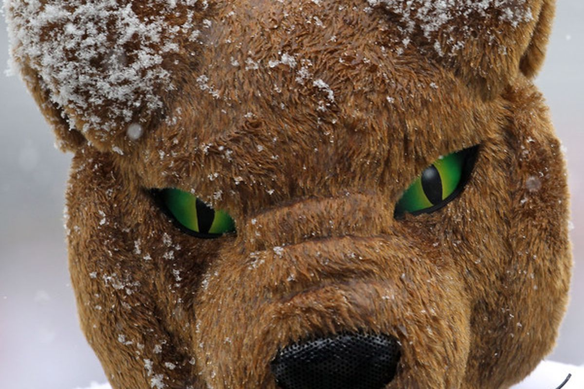 AAAHHHH PITTSBURGH'S MASCOT LEFT THE BIG EAST BECAUSE IT RAN OUT OF COCAINE---