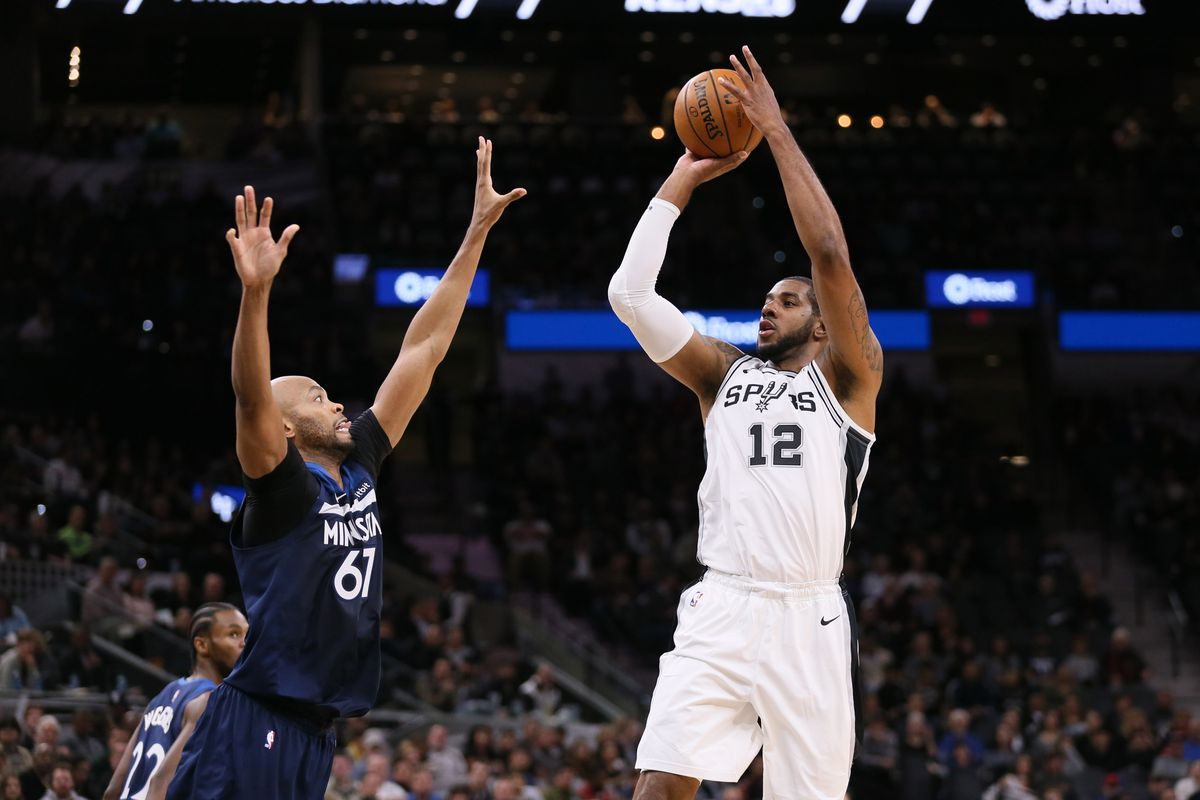 ce6ae89faf6 What we learned from the Spurs win over the Timberwolves - Pounding ...