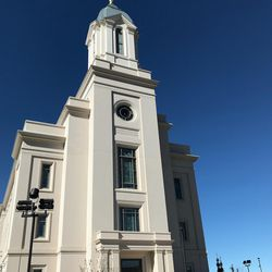 A view of the new Cedar City Temple, the 17th temple to be built in Utah and the 159th in the LDS Church.