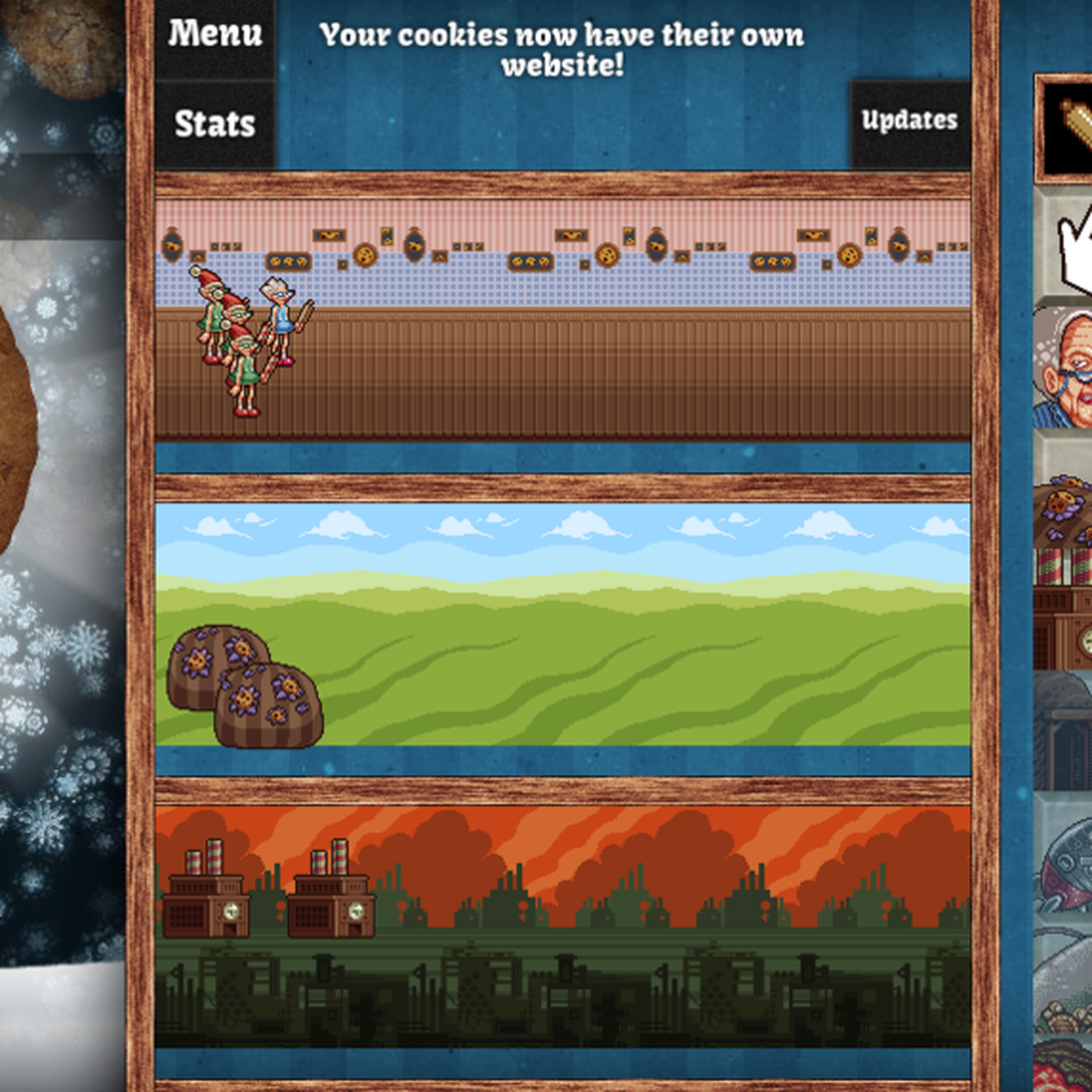 Cookie Clicker Updated With Christmas Cheer Polygon