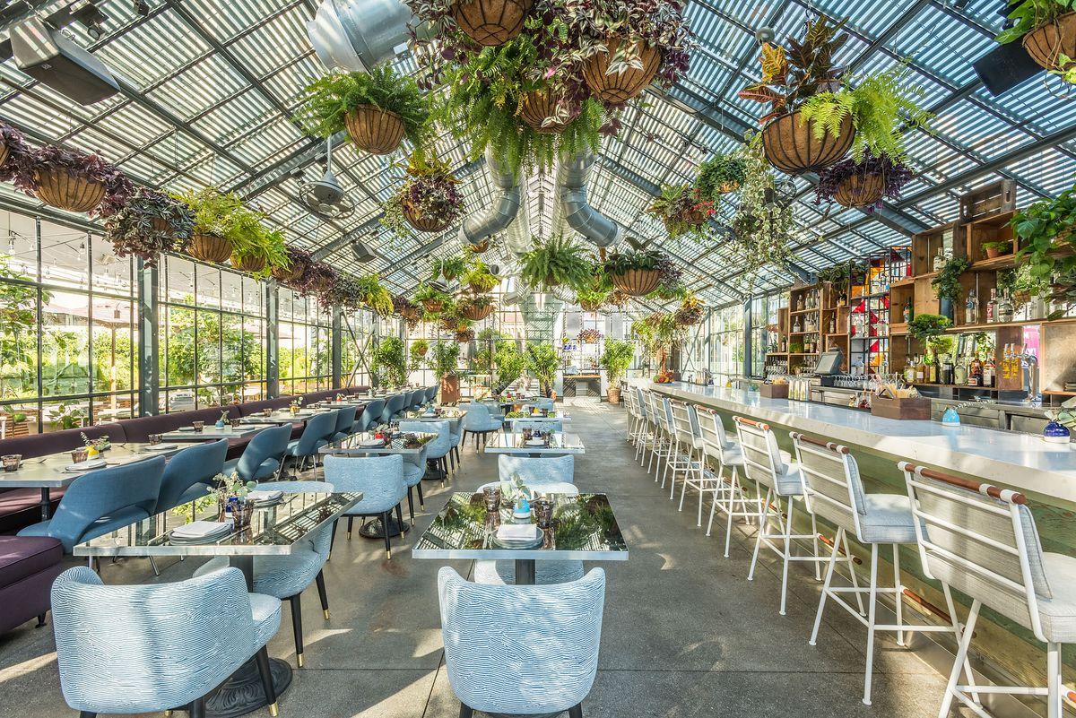 Line Hotel New Restaurant Openaire Features Melisse Chef Josiah