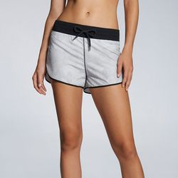 """Our pick: Leather moto jacket? Check. Slouchy tank? Check. Sporty chic running shorts? Boom. Add little black booties and you've got yourself a deal. Suva run short, $29.95 at <a href=""""http://www.fabletics.com/index.cfm?action=shop.viewproduct&featured_pr"""