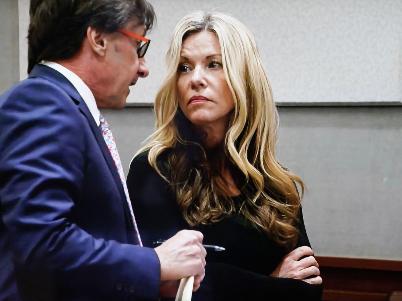 Lori Vallow, aka Lori Daybell, appears in court in Kauai, Hawaii.