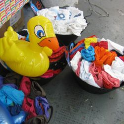 Limoland brought an inflatable duck