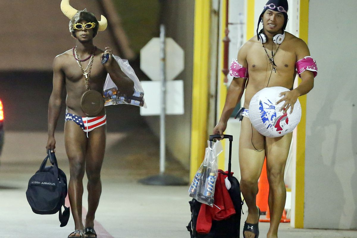 Remember back when the rookie hazing didn't involve half the team?