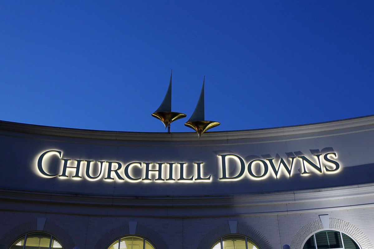 LOUISVILLE, KY - APRIL 30: A view of Churchill Downs on April 30, 2010 in Louisville, Kentucky. Churchill Downs has hosted the Breeders' Cup on six previous occasions. (Photo by Jamie Squire/Getty Images)