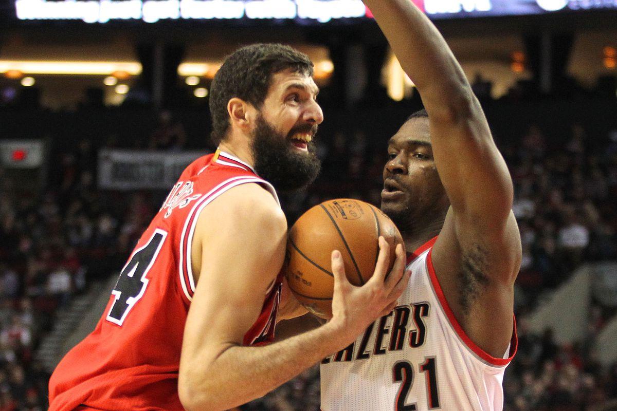 NBA: Chicago Bulls at Portland Trail Blazers