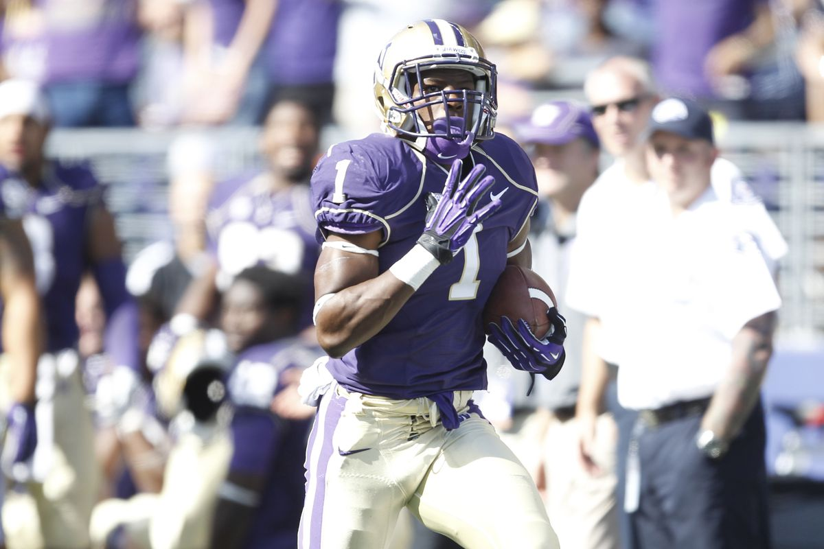 Husky fans will miss seeing the breakaway potential of John Ross on the field in 2015