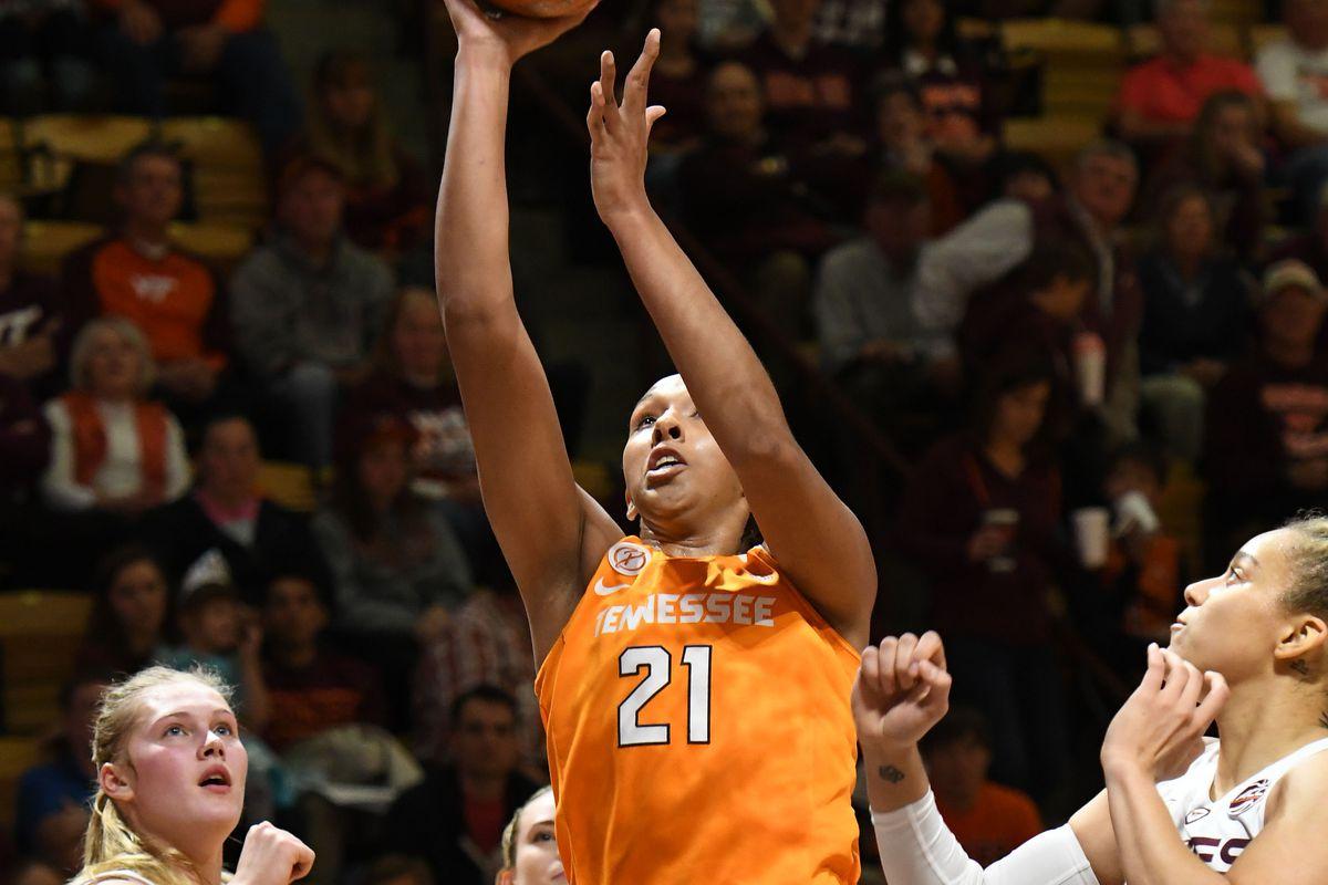 NCAA Womens Basketball: Tennessee at Virginia Tech