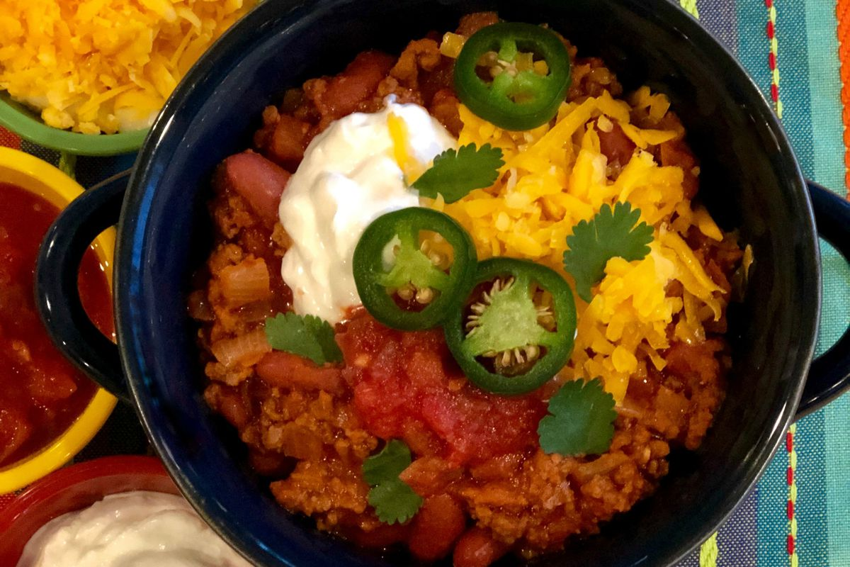 Try this chili recipe for your next meal.