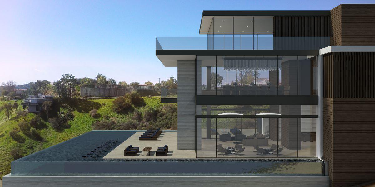 Rendering of new spec house