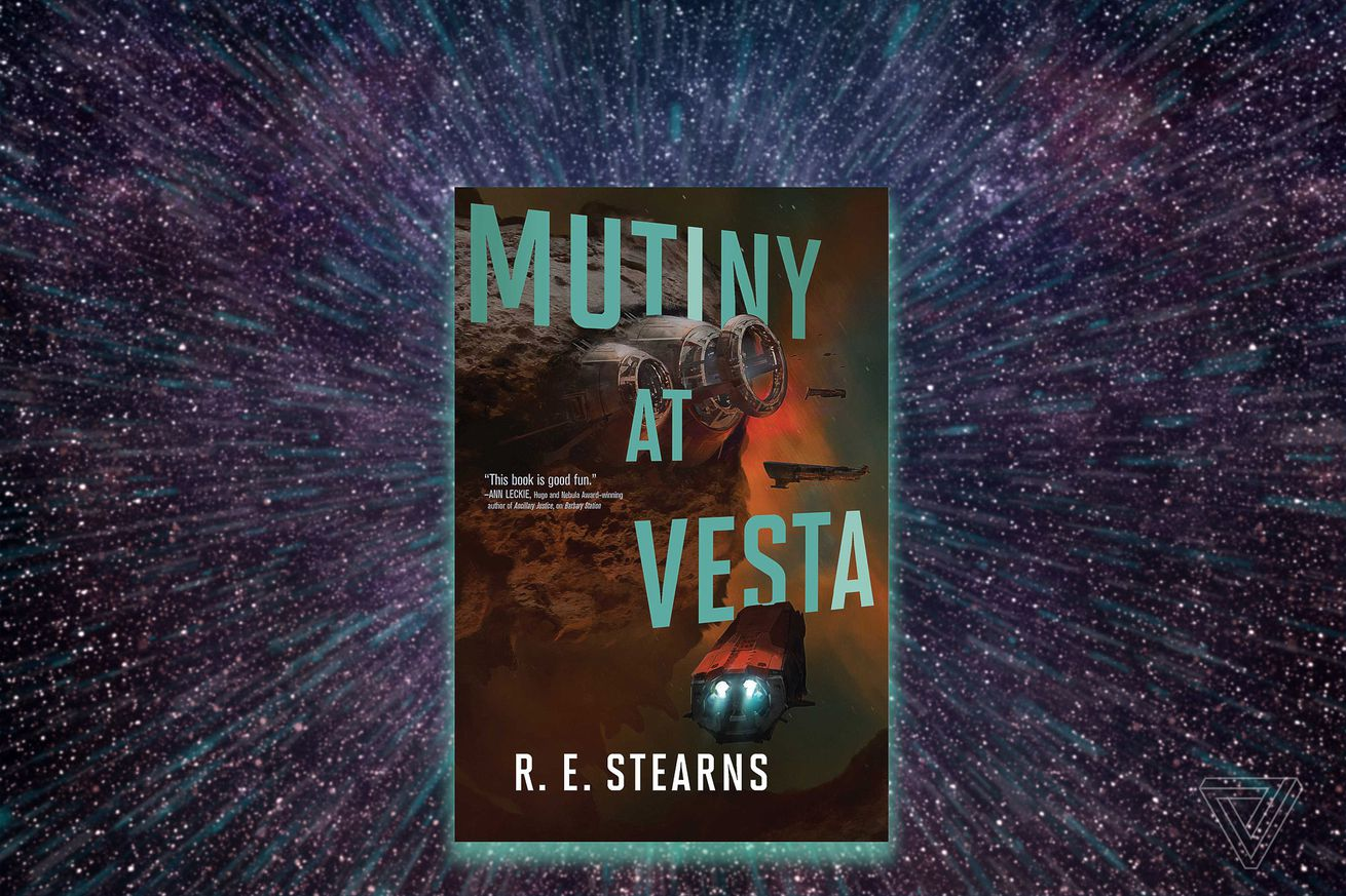 read an excerpt from r e stearns science fiction book mutiny at vesta